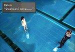 Rinoa e Squall discorrono tranquillamente