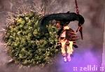 Odino galoppa verso Cleyra per distruggerla con la sua lancia