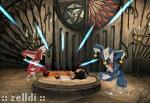 Son e Zon estraggono gli Spiriti d'Invocazione dal corpo di Daga