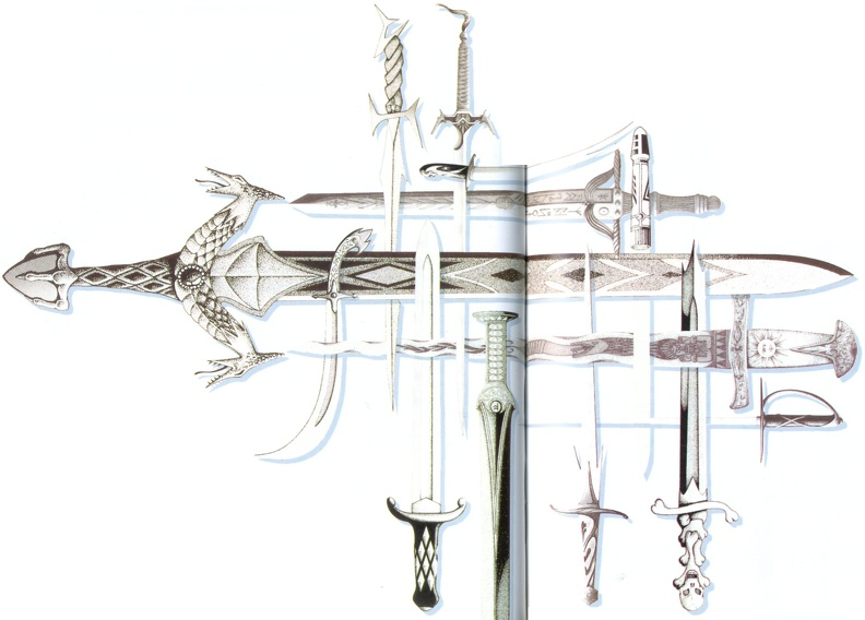 FFVI Swords 1 Artwork