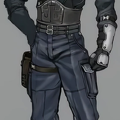 SOLDIER 3rd Class from Final Fantasy VII Remake